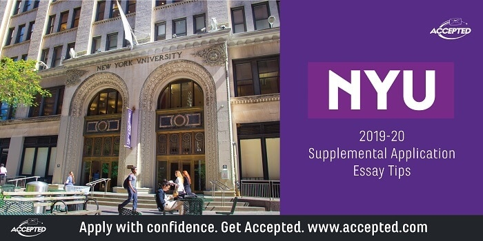 NYU 2019-20 Supplemental Essay Tips