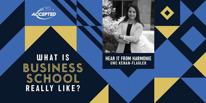 What is business school really like? Hear it from Harmonie, UNC Kenan-Flagler student!