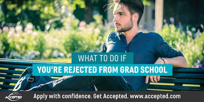 What to Do if You're Rejected from Grad School