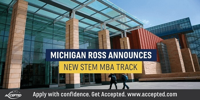Michigan Ross Announces New STEM MBA Track