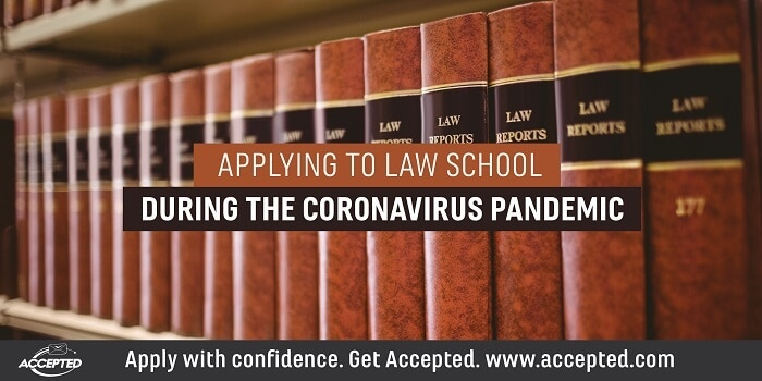 Applying to Law School During the Coronavirus Pandemic