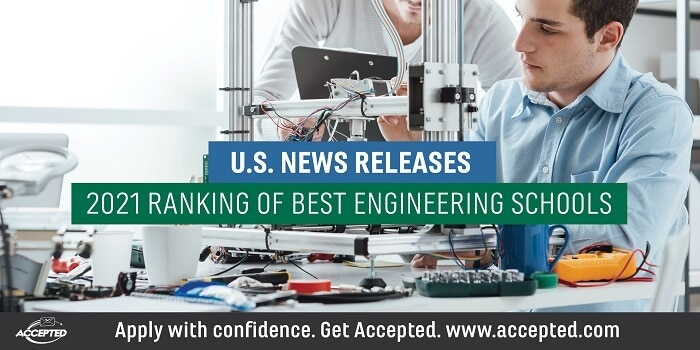 US News announces 2021 ranking of best engineering programs