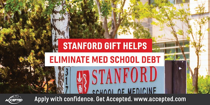 Stanford Gift Helps Eliminate Med School Debt