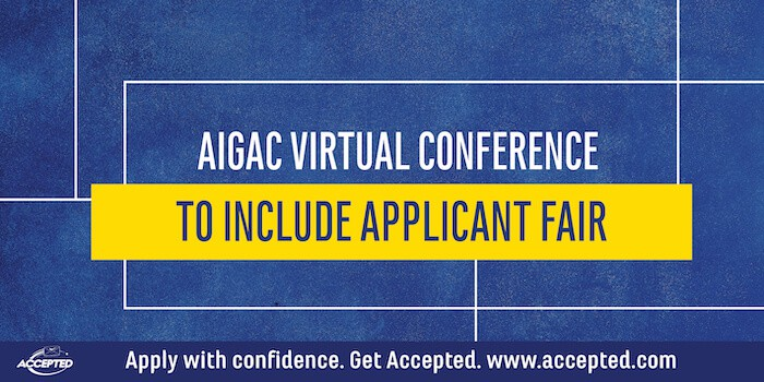 AIGAC Virtual Conference to Include Applicant Fair