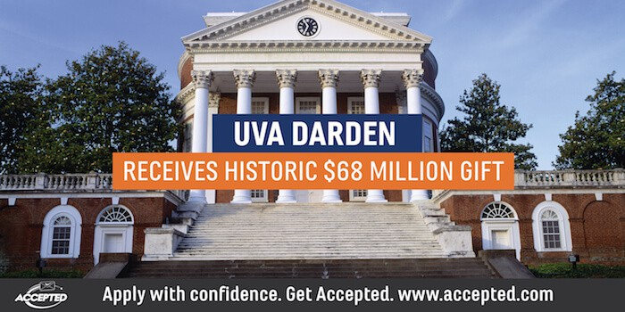 UVA Darden Receives Historic $68 Million Gift