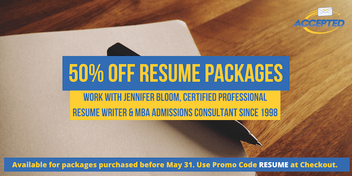 save on mba resume packages