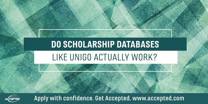 Do Scholarship Databases Like Unigo Actually Work?