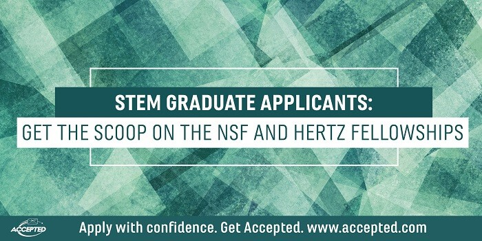 STEM Graduate Appliants Get the Schoop on the NSF and Hertz Fellowships