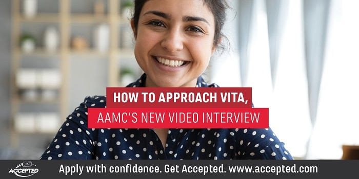 How to approach VITA- AAMC's new video interview