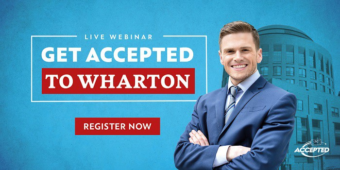 Live webinar - Get Accepted to Wharton