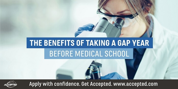 The benefits of taking a gap year before medical school