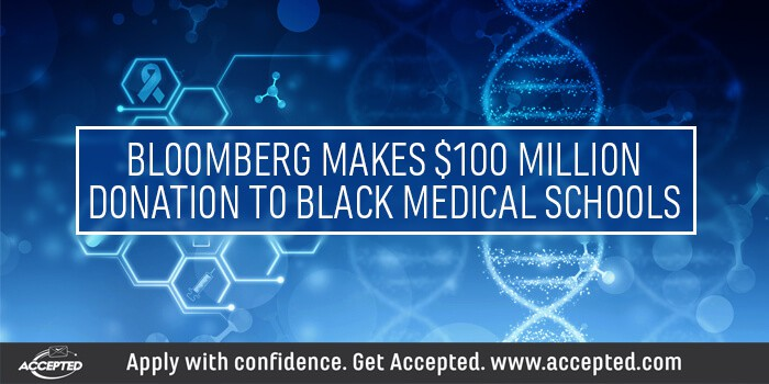 Bloomberg Makes $100 Million Donation to Black Medical Schools