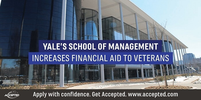 Yale's SOM increases financial aid to veterans