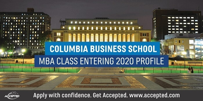 Columbia Business School MBA Class Entering 2020 Profile