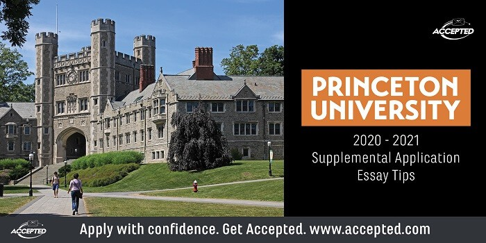 Princeton University supplemental essay tips