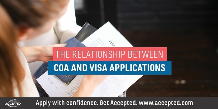 The Relationship Between CoA and Visa Applications