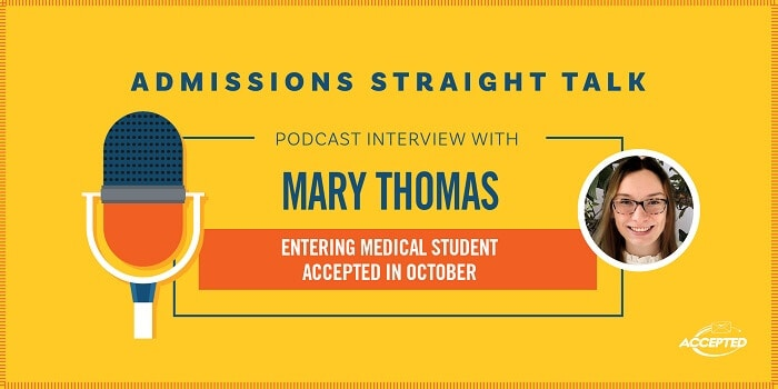 Podcast interview with Mary Thomas