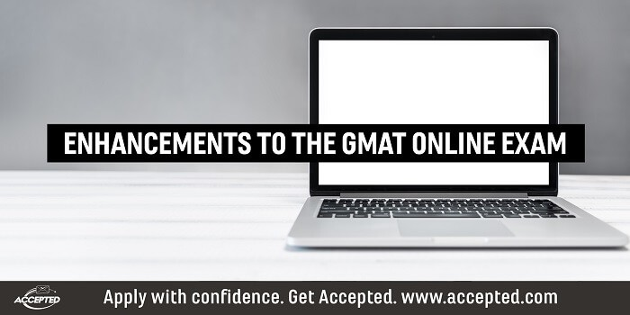 Enhancements to the GMAT online exam