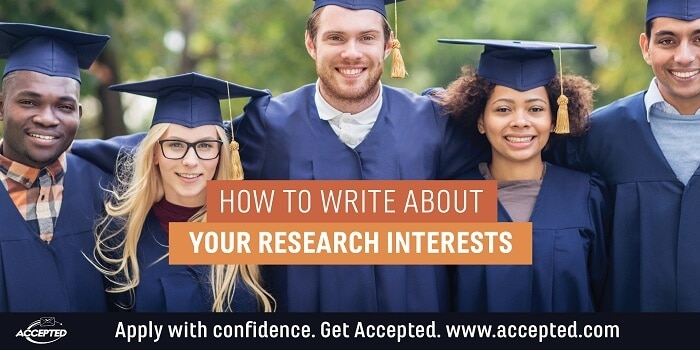 How to write about your research interests