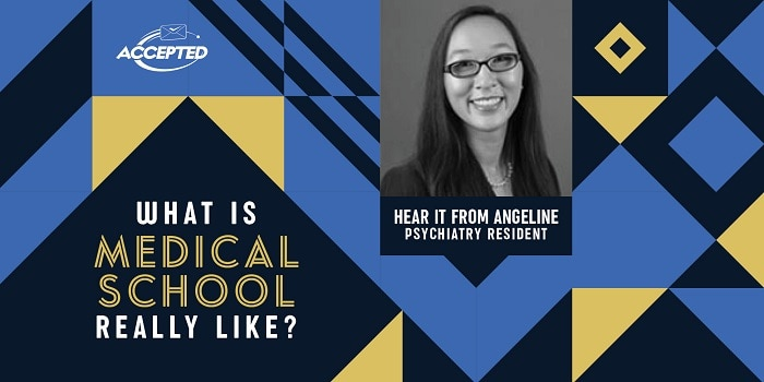 What are medical school and residency like? Hear it from Angeline, a second-year psychiatry resident!