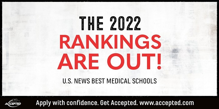 U.S. News 2022 Ranking of Best Medical Schools Now Live [Research & Primary Care]