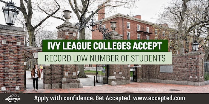 Ivy League Acceptances at Record Low