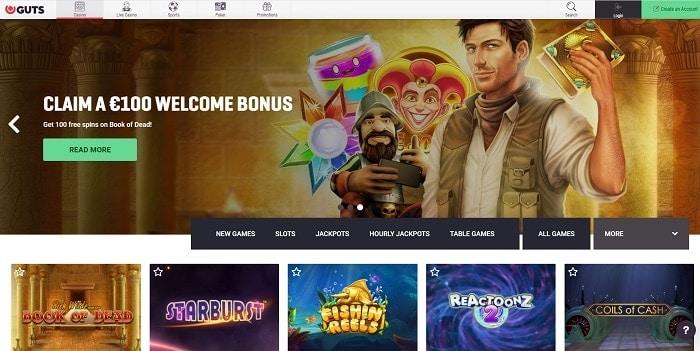 Guts.com free bonus