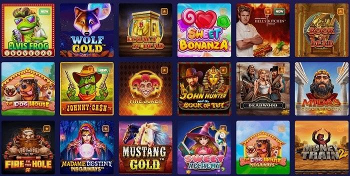 Pino Casino Games