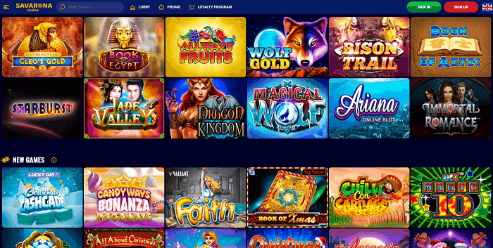 Play slots and table games with free spins