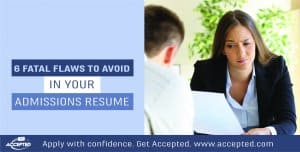 6 Fatal Resume Flaws to Avoid