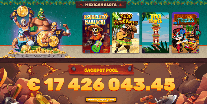 Mexican Slots and Jackpots