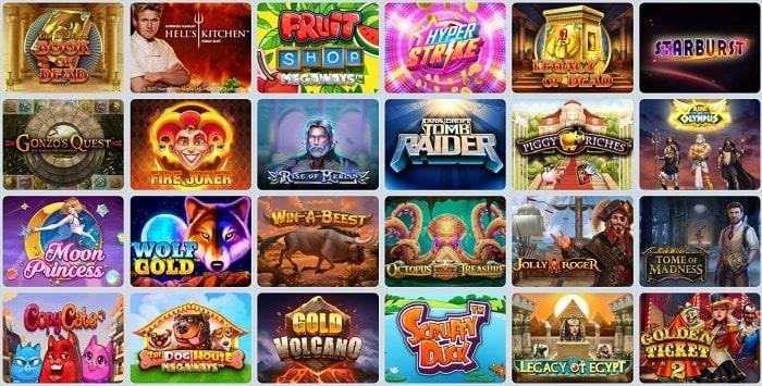CampeonBet Casino Games