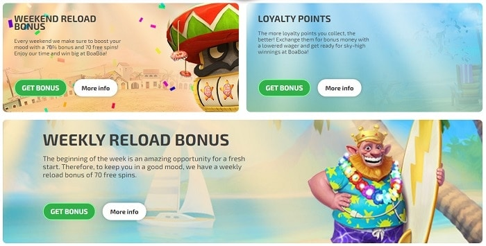 Promotion and Weekly Reload