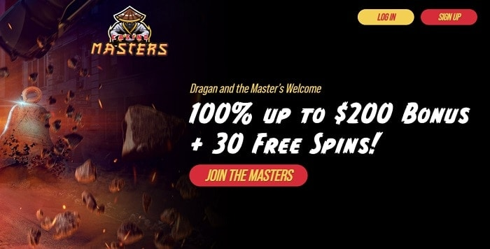 Master's Welcome Bonus