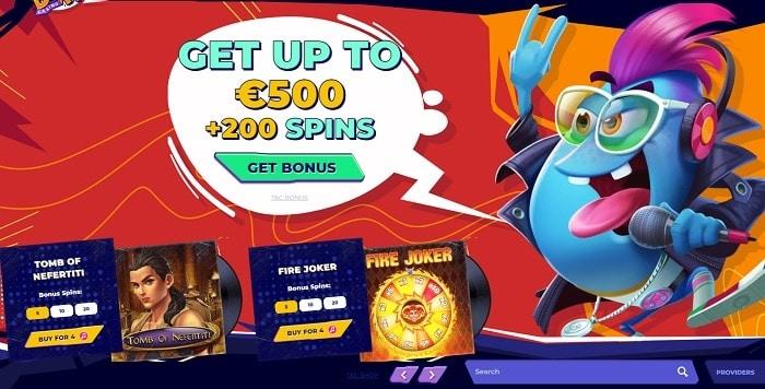 Get 200 FS and 500 EUR bonus!