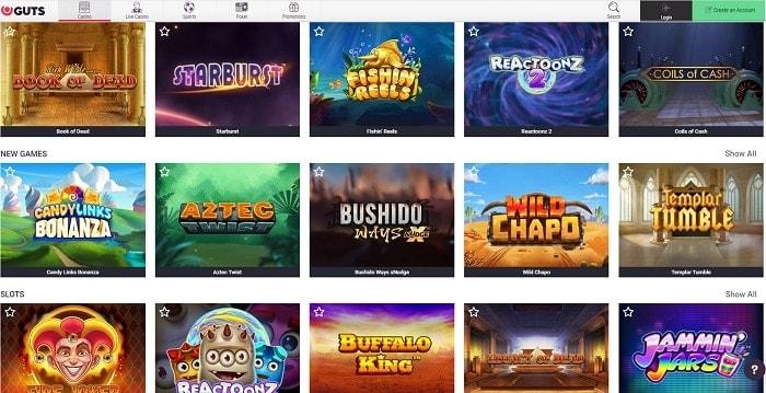 GIG Casino Games