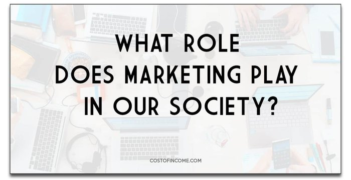 what role does marketing play in our society