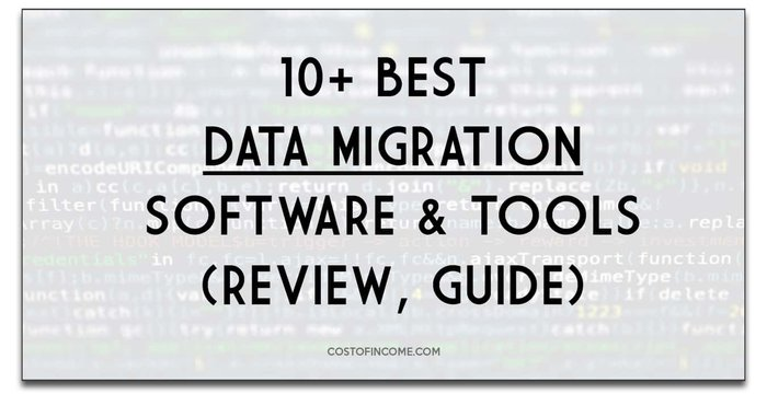 best data migration software tools