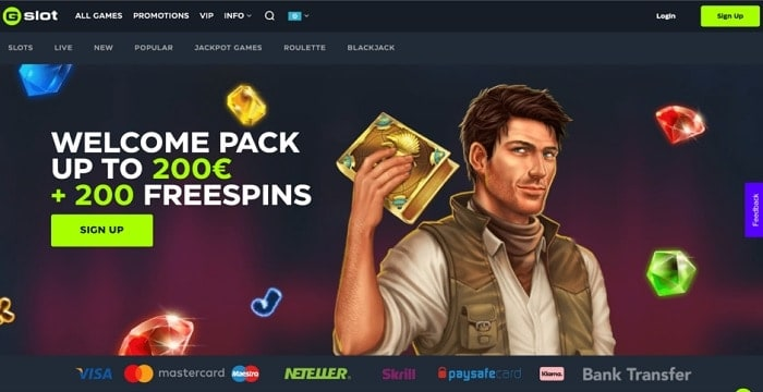 Get 200 Gratis Spins!