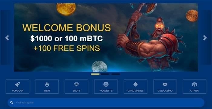 100 free spins bonus code
