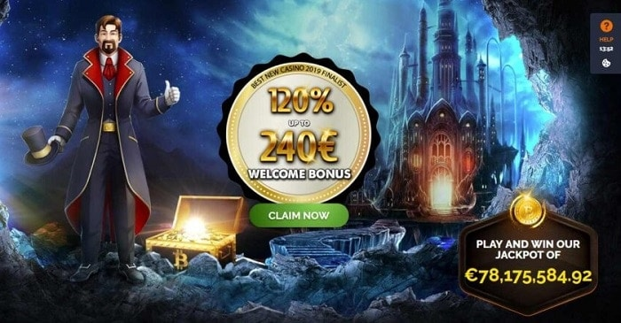 Free Money and Free Spins in Welcome Bonus