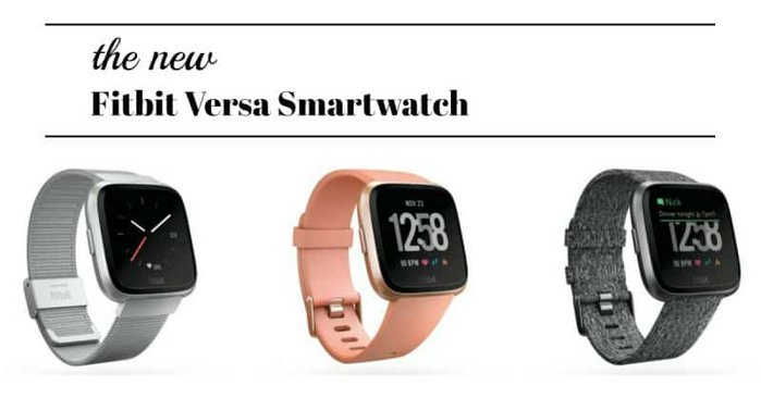 Take a look at the gorgeous new Fitbit smartwatch, the Versa! Here's what it does, and why you'll want one.