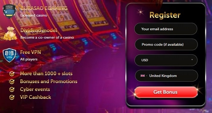 Register now and play at Starz Casino