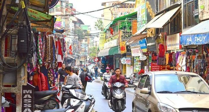 Start any visit to hanoi in its colorful old quarter