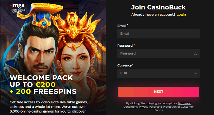 Register and Login to Get Free Spins!