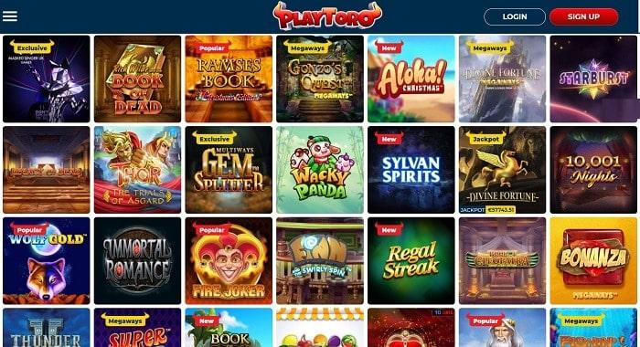PlayToro Casino Website Review