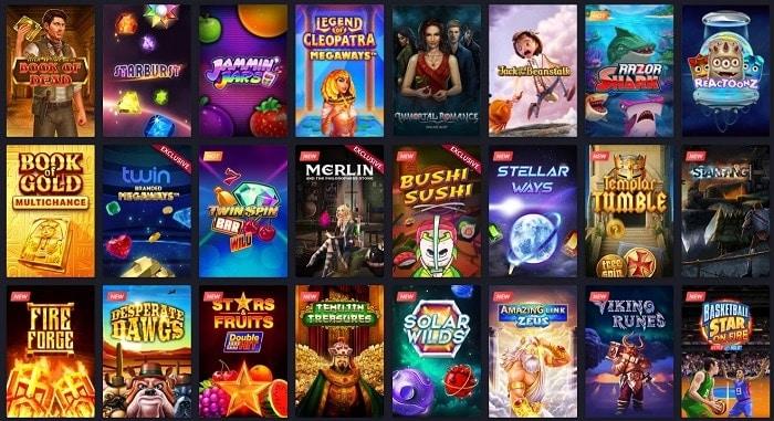 Twin slot machines