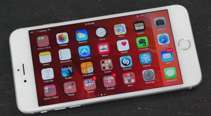 Apple iPhone 6s Plus Apps Problems: App stuck on Waiting