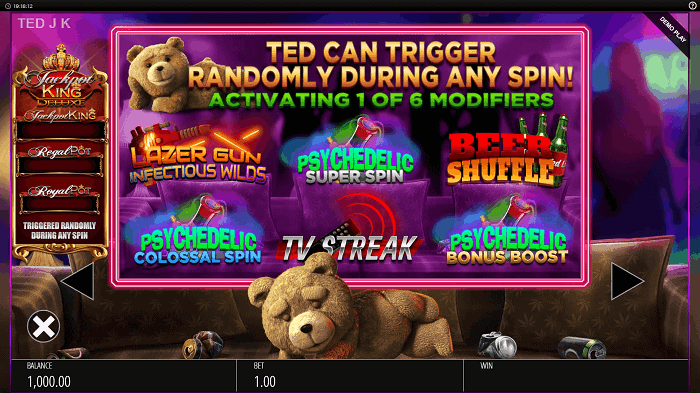 Ted Jackpot King slot machine review