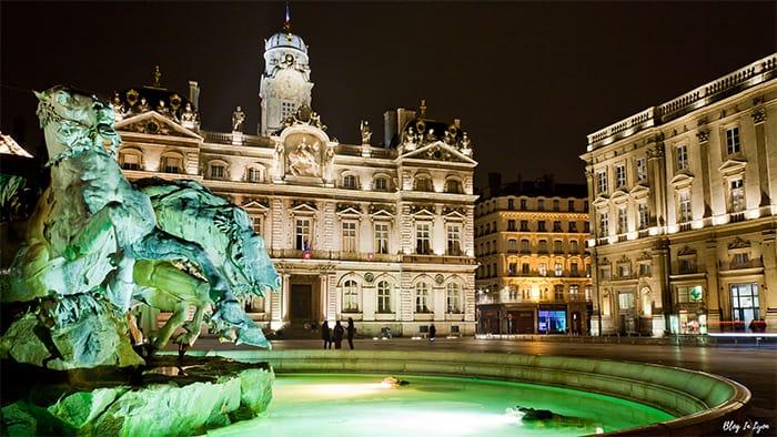 un fond écran HD de Lyon